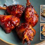 BBQ recept Snelgegaarde rundershortrib van de Kamado Joe